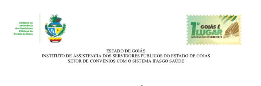 INSTITUTO DE ASSISTÊNCIA DOS SERVIDORES PÚBLICOS DO ESTADO DE GOIÁS